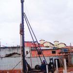 Cravação de estacas pré-moldadas de concreto